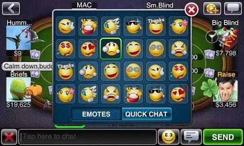 screenshot of Texas HoldEm Poker Deluxe version 2.0.0