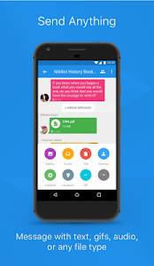 screenshot of Signal Private Messenger version 4.7.4