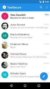 screenshot of Signal Private Messenger version 3.27.1