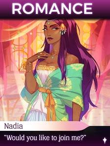 screenshot of The Arcana - A Mystic Romance version 1.42