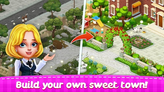 screenshot of Town Story - Match 3 Puzzle version 1.3.3181