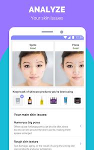 screenshot of TroveSkin: Your Skincare Coach version 4.87