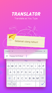 Download Typany Keyboard-Translator, Animoji&Theme Keyboard 4.11.0 APK
