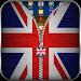 Download UK Flag Zipper Lock Screen 36.1 APK