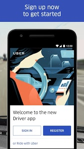 screenshot of Uber Driver version 4.203.10004