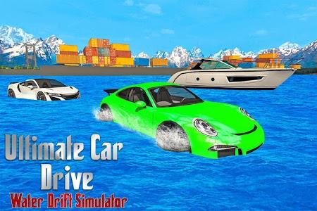 Download Ultimate Car Drive: Water Drift Simulator 1.0 APK