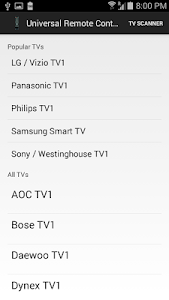Download Universal Remote Control Free 1.27 APK