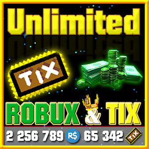 Download Unlimited Robux and Tix For Roblox Simulator 1.0 APK