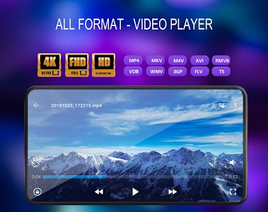 screenshot of Video Player All Format version 1.2.1
