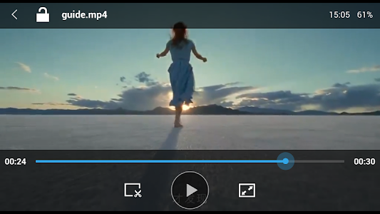 screenshot of Video Player Perfect version 7.0