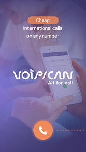 screenshot of Voipscan version 2.8.5