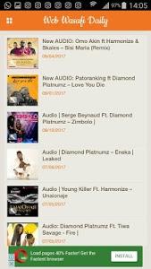 Download WCB Daily-Audio,Video,Lyrics& habari za WCB WASAFI 1.1 APK