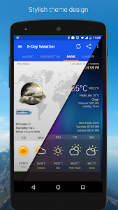 Download Weather & Clock Widget for Android 5.9.4.8 APK