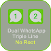 Download Whats Dual Lines App GB 1.2 APK