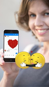 screenshot of ? WhatsLov: Smileys of love, stickers and GIF version 4.3.0