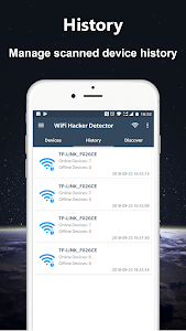 screenshot of WiFi Thief Detector - Detect Who Use My WiFi version 1.1.11