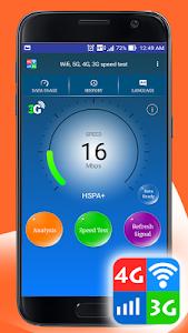 Download Wifi, 5G, 4G, 3G speed test 1.6 APK