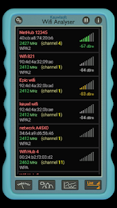 Download Wifi Analyser 1.10 APK