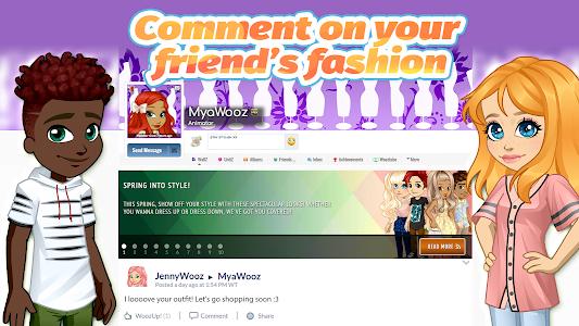 screenshot of Woozworld - Fashion & Fame MMO version 3.2.1