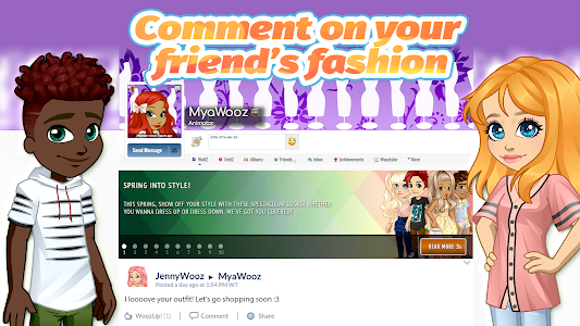 screenshot of Woozworld - Fashion & Fame MMO version 2.11.1