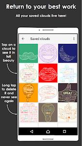 screenshot of Word Cloud version 2.4.1
