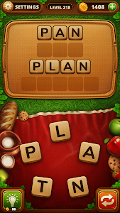 screenshot of Word Snack - Your Picnic with Words version 1.4