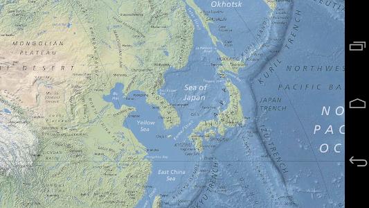 Download World Map Offline - Physical 1.3 APK