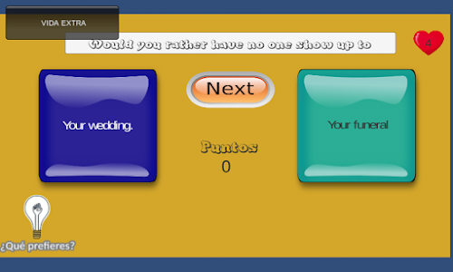 screenshot of Would You Rather? version 1.3