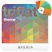 Download XPERIA™ Triflat Theme 1.2.0 APK