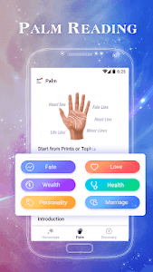 screenshot of Zodiac Signs Master - Palmistry & Horoscope 2018 version 1.0.9