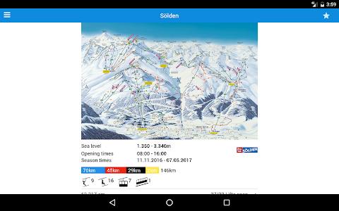 screenshot of bergfex/Ski Lite version Varies with device