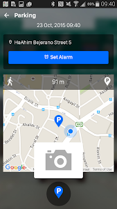 screenshot of iOnRoad Augmented Driving Lite version 2.0.1
