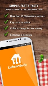 screenshot of Lieferando.de: Order Food version 3.4