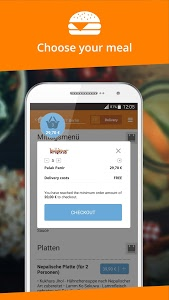 screenshot of Lieferando.de: Order Food version 4.14.2