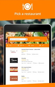 screenshot of Lieferando.de: Order Food version 4.14.3